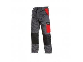 Pánské kalhoty PHOENIX CEFEUS, šedo-červené