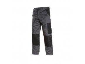 Pánské kalhoty PHOENIX CEFEUS, šedo-černé