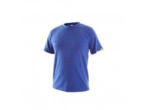 Antistatické tričko ESD, středně modré