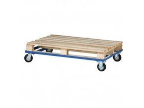 Podvozek pro palety, 120 x 80 cm, do 300 kg