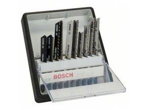 Bosch - 10dílná sada pilových plátků Robust Line Top Expert