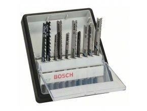 Bosch - 10dílná souprava pilových plátků do kmitacích pil, robustní řady na dřevo a kov