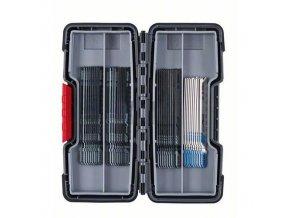 Bosch - 40dílná sada pilových plátků do kmitacích pil Wood and Metal