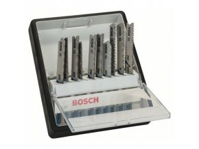 Bosch - 10dílná sada pilových plátků Robust Line Metal Expert