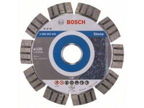 Bosch - Diamantové řezné kotouče Best for Stone pro úhlové brusky