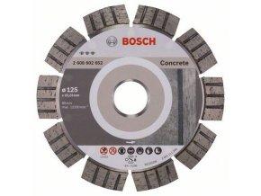 Bosch - Diamantové řezné kotouče Best for Concrete pro úhlové brusky