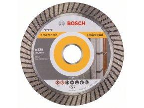 Bosch - Diamantové řezné kotouče Best for Universal Turbo pro úhlové brusky
