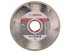 Bosch - Diamantové řezné kotouče Best for Marble pro úhlové brusky