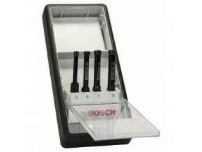 Bosch - 4dílná sada diamantových vrtáků pro vrtání za mokra Robust Line 5; 6; 7; 8 mm