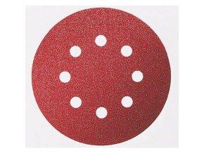 Bosch - Brusné papíry C430 pro excentrické brusky, Expert for Wood and Paint, O 115 mm, 8 otvorů