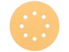 Bosch - Brusné papíry C470 pro excentrické brusky, Best for Wood and Paint, O 125 mm, 8 otvorů