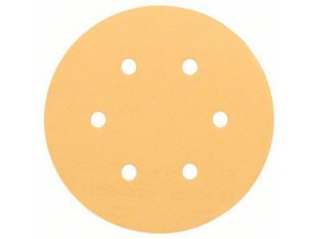 Bosch - Brusné papíry C470 pro excentrické brusky, Best for Wood and Paint, O 150 mm, 6 otvorů