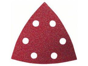 Bosch - Brusné papíry C430 pro trojúhelníkové brusky amulti-cuttery, Expert for Wood and Paint, 93 mm, 6 otvorů