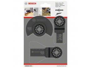 Bosch - 3dílná univerzální sada Segmentový pilový kotouč HCS Wood, 10 BAL