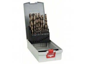 Bosch - 25dílná sada vrtáků do kovu ProBox HSS-Co, DIN 338 (legované kobaltem) 1-13 mm