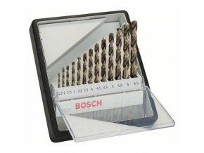 Bosch - 13dílná sada vrtáků do kovu Robust Line HSS-Co, 1,5; 2; 2,5; 3; 3,2; 3,5; 4; 4,5; 4,8; 5; 5,5; 6; 6,5 mm