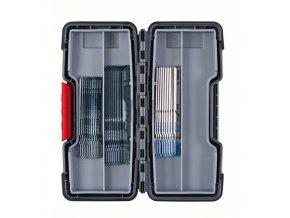 Bosch - 30dílná sada pilových plátků do kmitacích pil Wood and Metal