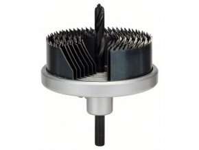 Bosch - 7dílná souprava ozubených věnců 25; 32; 38; 44; 51; 57; 63 mm, prac. délka 18 mm