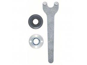Bosch - Sada upínacích přípravků 3dílná, pro malé úhlové brusky