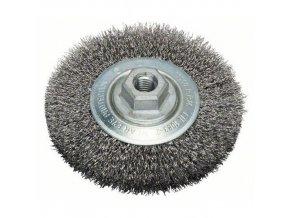 Bosch - Kotoučové ocelové kartáče pro úhlové brusky a přímé brusky