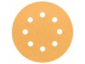 Bosch - Brusné papíry C470 pro excentrické brusky, Best for Wood and Paint, O 115 mm, 8 otvorů