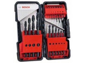 Bosch - 18dílná sada vrtáků do kovu Toughbox HSS-R, 118° 1; 1,5; 2; 2; 2,5; 3; 3; 3,5; 4; 4; 4,5; 5; 5,5; 6; 7; 8; 9; 10 mm