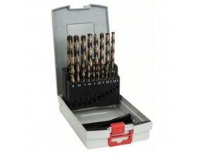 Bosch - 19dílná sada vrtáků do kovu ProBox HSS-Co, DIN 338 (legované kobaltem) 1-10 mm