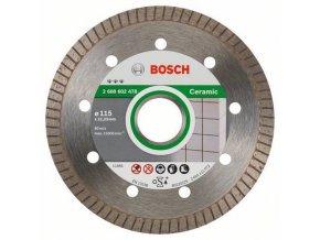 Bosch - Diamantové řezné kotouče Best for Ceramic Extraclean Turbo pro úhlové brusky