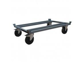 Podvozek pro palety Manu, 120 x 80 cm, do 500 kg