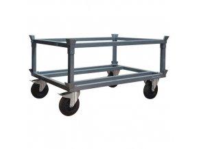 Podvozek pro palety Manu Acier, 120 x 80 cm, do 500 kg