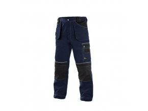 Kalhoty do pasu CXS ORION TEODOR, pánské, tmavě modré-černé