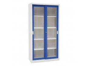 Dílenské skříně na nářadí Manu, 200 x 100 x 65 cm