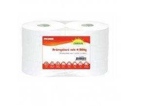 Průmyslové papírové utěrky Maxi White Cel 2vrstvé, 500 m, bílé, 2 ks