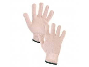 Bavlněné rukavice CXS, bílé