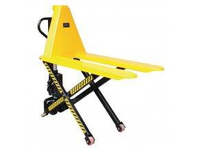 Nůžkový paletový vozík, do 1 000 kg, výška zdvihu 800 mm