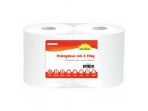 Průmyslové papírové utěrky Midi White Cel 2vrstvé, 290 m, bílé, 2 ks