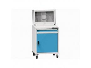 Dílenská skříň pro PC, 164,2 x 75,3 x 73,1 cm