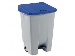 Plastové odpadkové koše Manu Handy, objem 80 l