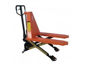Nůžkový paletov?? vozík, do 1 000 kg, výška zdvihu 500 mm