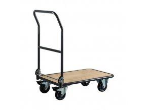 Plošinové vozíky Manu L720 se sklopným madlem, do 250 kg