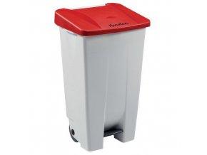 Plastové odpadkové koše Manu Handy, objem 120 l