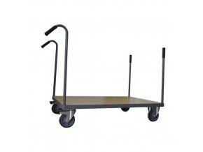Plošinový vozík Manu s trubkovými madly, do 500 kg