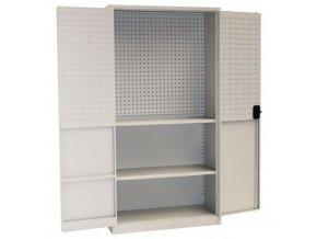 kovove dilenske skrine s perfo panely pro boxy do dilny c