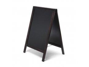 Reklamní křídová tabule A, černá