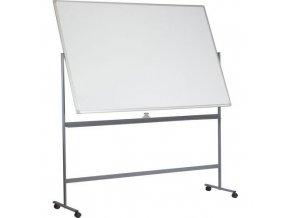 Mobilní bílé magnetické tabule Basic, oboustranné