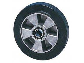 Gumová pojezdová kola, průměr 180 - 200 mm, valivá ložiska