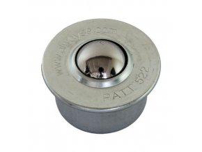 Kuličková kladka s přírubou pro nasouvání, průměr 22 mm