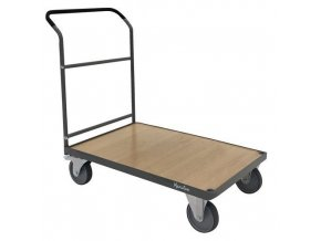 Plošinové vozíky Manu s madlem, do 500 kg