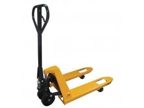 Paletový vozík BASIC, do 2 000 kg, polyuretanová řídicí kola