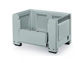 Paletové kontejnery s bočním otevíráním, 480 - 620 l